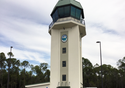 Construction of Air Traffic Control Tower