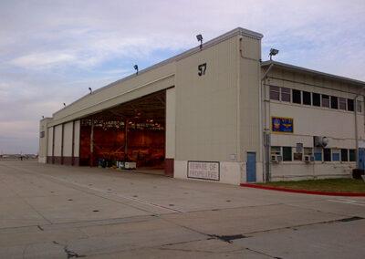 Repair and Modernization of Hangar 57
