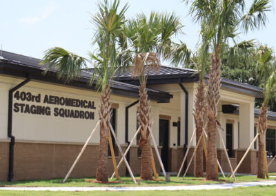 Aeromedical Staging Squadron Facility